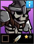 Skeletal Warrior EL1 card