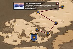 The Winter Kingdom - map