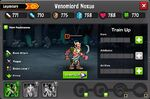Venomlord Noxus 1-1* stats