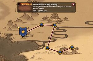The Enemy of My Enemy - map