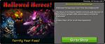 Latest News 2014-10-30 Hallowed Heroes