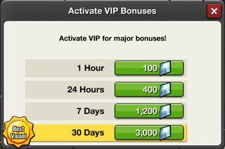 VIP activate