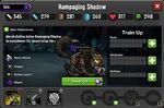 Rampaging Shadow 1-1* stats