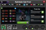 Nightshade High Priest 1-1* resistances