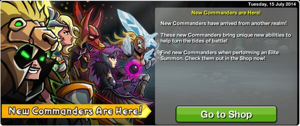 New Commanders are Here