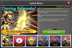 Event Piercing Catacombs news