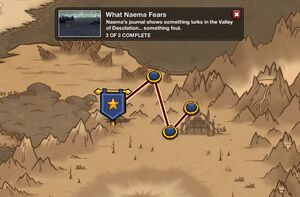 What Naema Fears - map