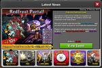 Event Redfrost Portal news