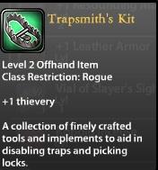 Trapsmith's Kit