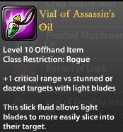 Vial of Assassin's Oil