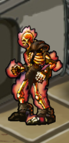 Blazing Skeleton