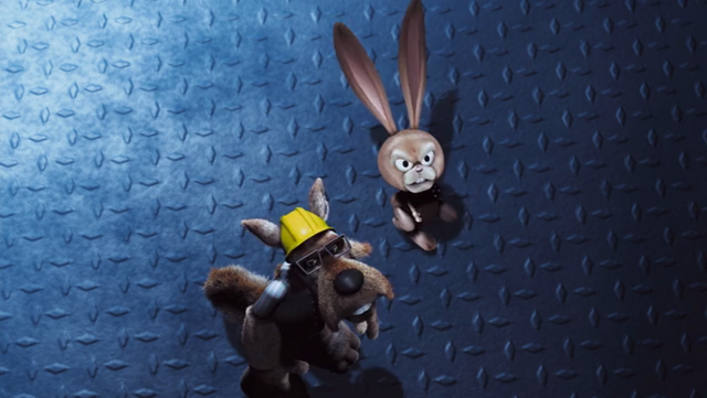 File:Hoodwinked Wolf and Boingo Look Up at Granny.png
