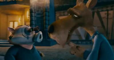 File:Wolf and hench pig hoodwinked too hood VS. evil.jpg