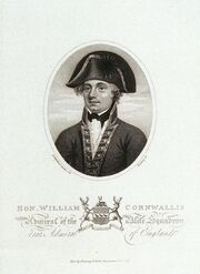 William Cornwallis as Admiral