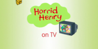 Horrid Henry on TV