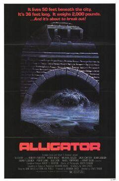 Alligator poster