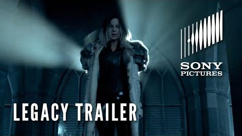 "UNDERWORLD BLOOD WARS (Official ""Legacy"" Trailer)"
