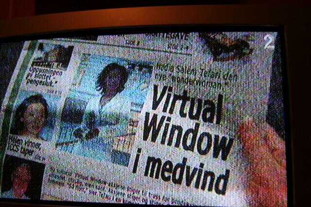Fil:Virtual Window i avisen.JPG