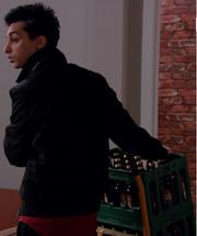 Rahim med flasker
