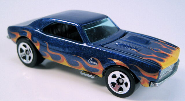 File:67 camaro series blue with flames .JPG