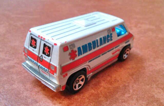 File:Hot wheels 70 van ambulance rear.jpg