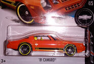 81 Camaro 2017 Camaro Fifty Orange