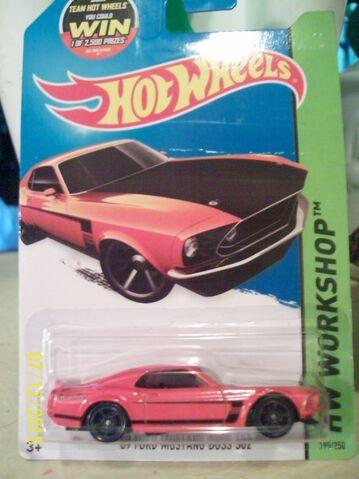 File:'69 Ford Mustang Boss 302.JPG