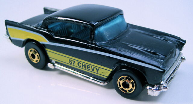 File:57 chevy black gold HO wheels hong kong base no exposed engine.JPG