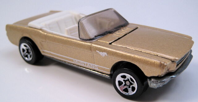 File:65 mustang convertible gold 5sp.JPG