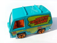 The Mystery Machine side