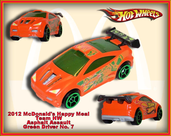 File:2012 McDonalds Happy Meal Team HW Asphalt Assault green Driver no. 7.jpg