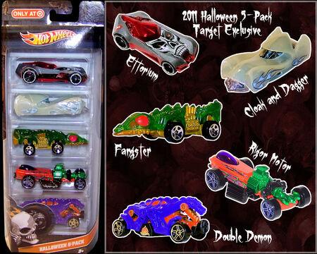2011 Halloween 5-Pack Target Exclusive