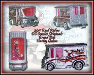 2011 HW Real Riders DC Comics Originals Bread Box Harley Quinn