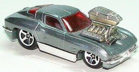 1963 Corvette Tooned