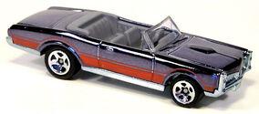 67 Pontiac GTO Conv - Classics Black