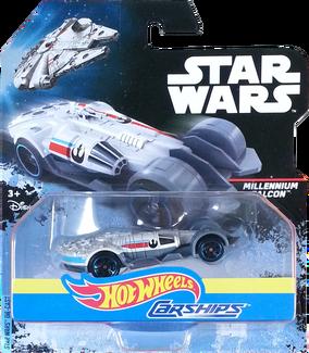 Millennium Falcon package front