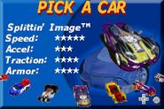 Hot Wheels - Velocity X GBA Splittin Image II