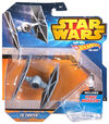 Tie fighter blue
