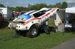 Bruce Larsons Corvette Funny Car