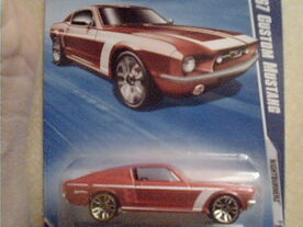 68 Mustang Tampo Error