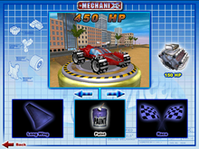 Speed Machine was Playable in Hot wheels mechanix PC 2001 original Colors Game