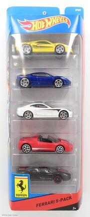 Ferrari 5 Pack-17368