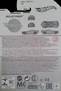 Bullet Proof package back