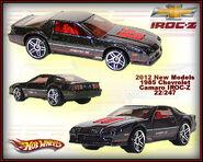 2012 New Models 1985 Chevrolet Camaro IROC-Z 22-247