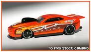 10 prostock camaro orange