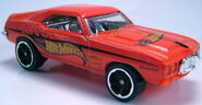 69 Pontiac Firebird 2012 Walmart Mystery Models