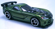 08 Dodge Viper SRT10 ACR green Holiday Hot Rods 2011