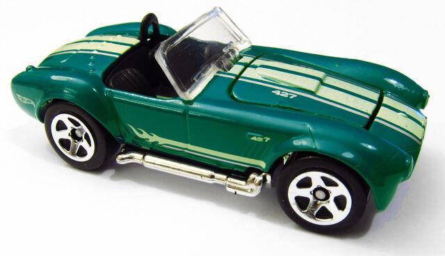 File:Shelby Cobra 427 2011 Teal.jpg