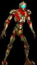 Red Humanoid Zurk