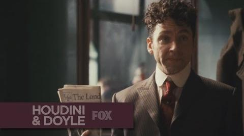 """HOUDINI & DOYLE - A Supernatural Case from """"The Maggie's Redress"""" - FOX BROADCASTING"""
